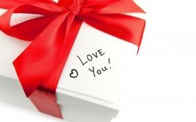 Обои Люблю тебя зая: Письмо, Подарок, Бантик, Настроения