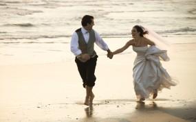 Обои Свадьба: Невеста, Свадьба, Жених, Настроения, Настроения