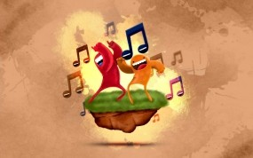 Обои Psy: Музыка, Человечки, Танец, Ноты, Настроения