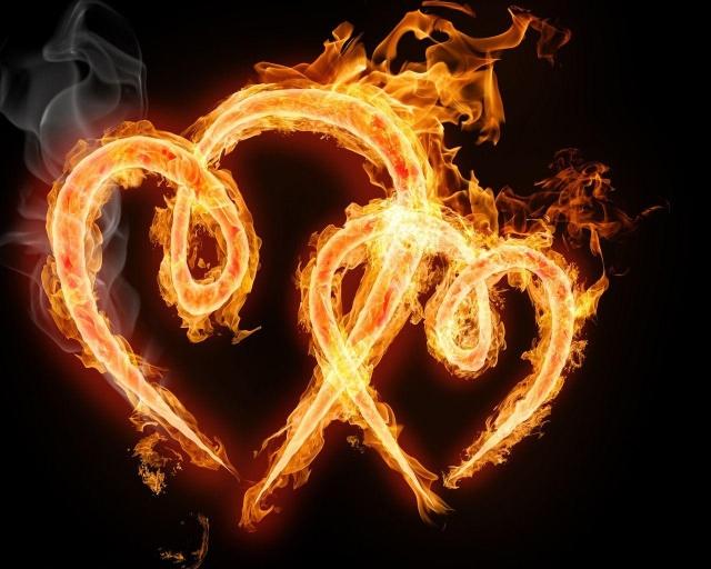Два огненных сердца