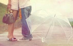 Обои Пара: Любовь, Зонт, Настроения