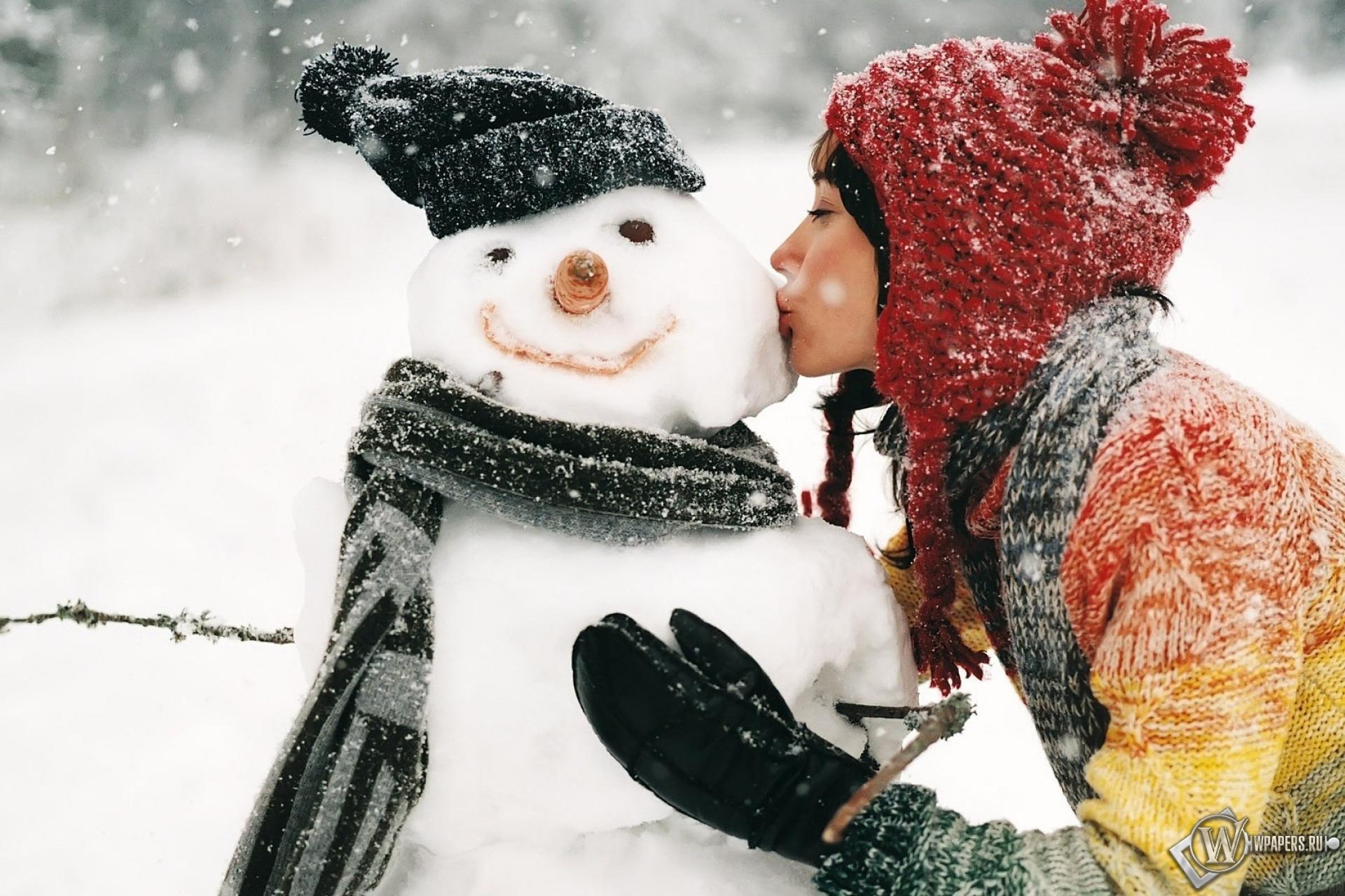Фото девушек в снегу 9 фотография