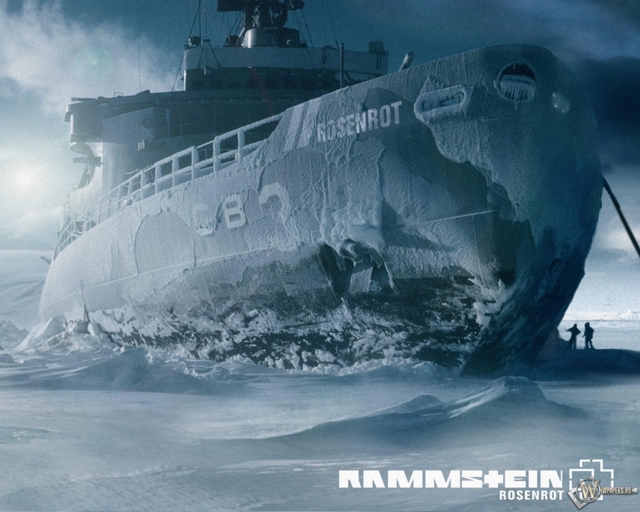 Скачать обои Rammstein Rosenrot (Лёд, Корабль, Rammstein) для ...
