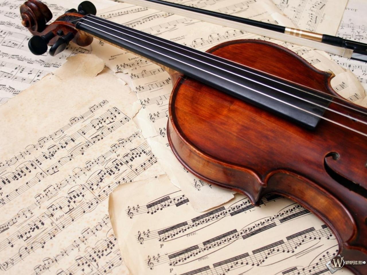 Обои скрипка музыка скрипка ноты