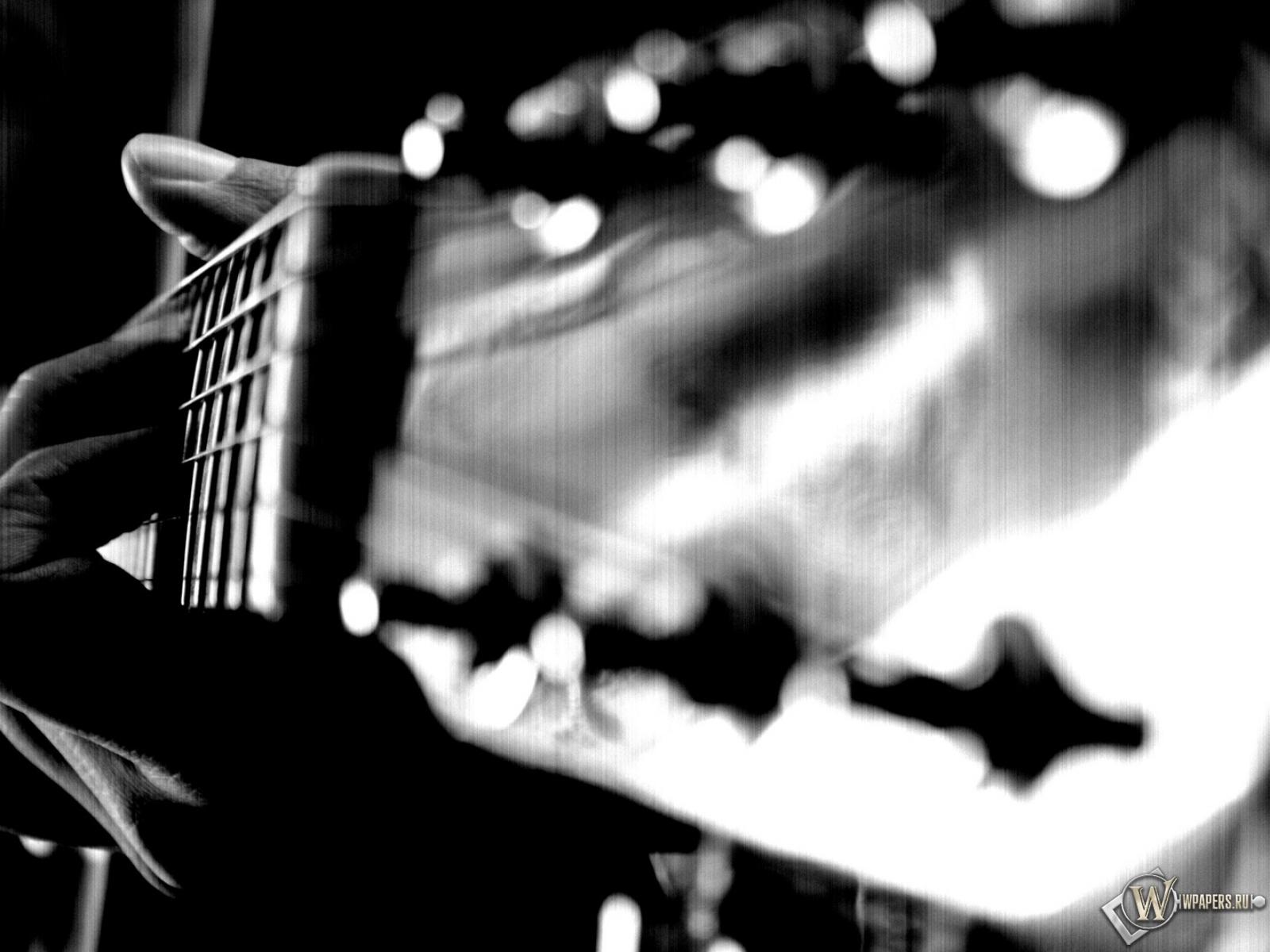 Обои гитара акустическая на рабочий