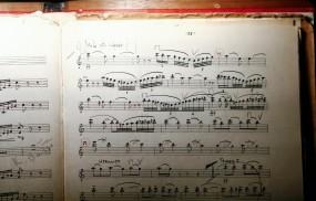 Обои Ноты: Ноты, Тетрадь, Стан, Музыка