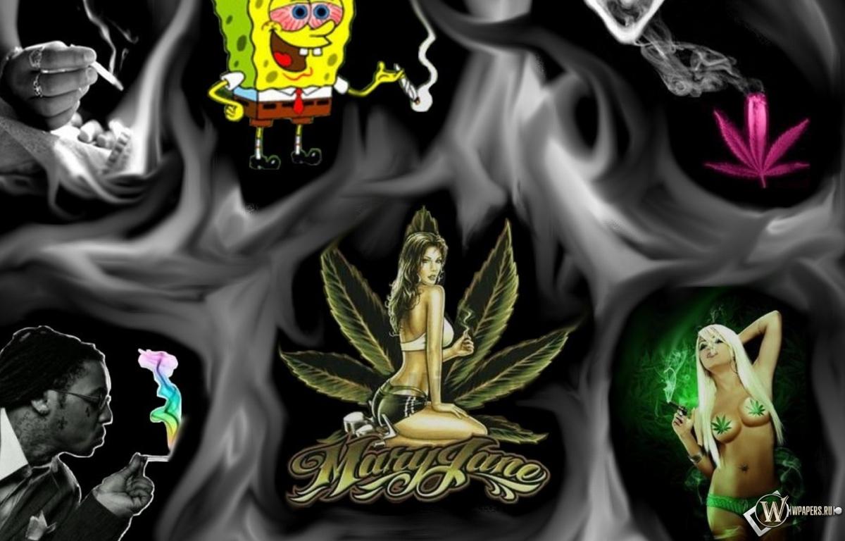 Скачать обои на рабочий стол марихуана 7