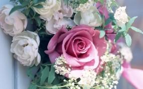 Обои Букет цветов: Цветы, Листья, Букет, Цветы