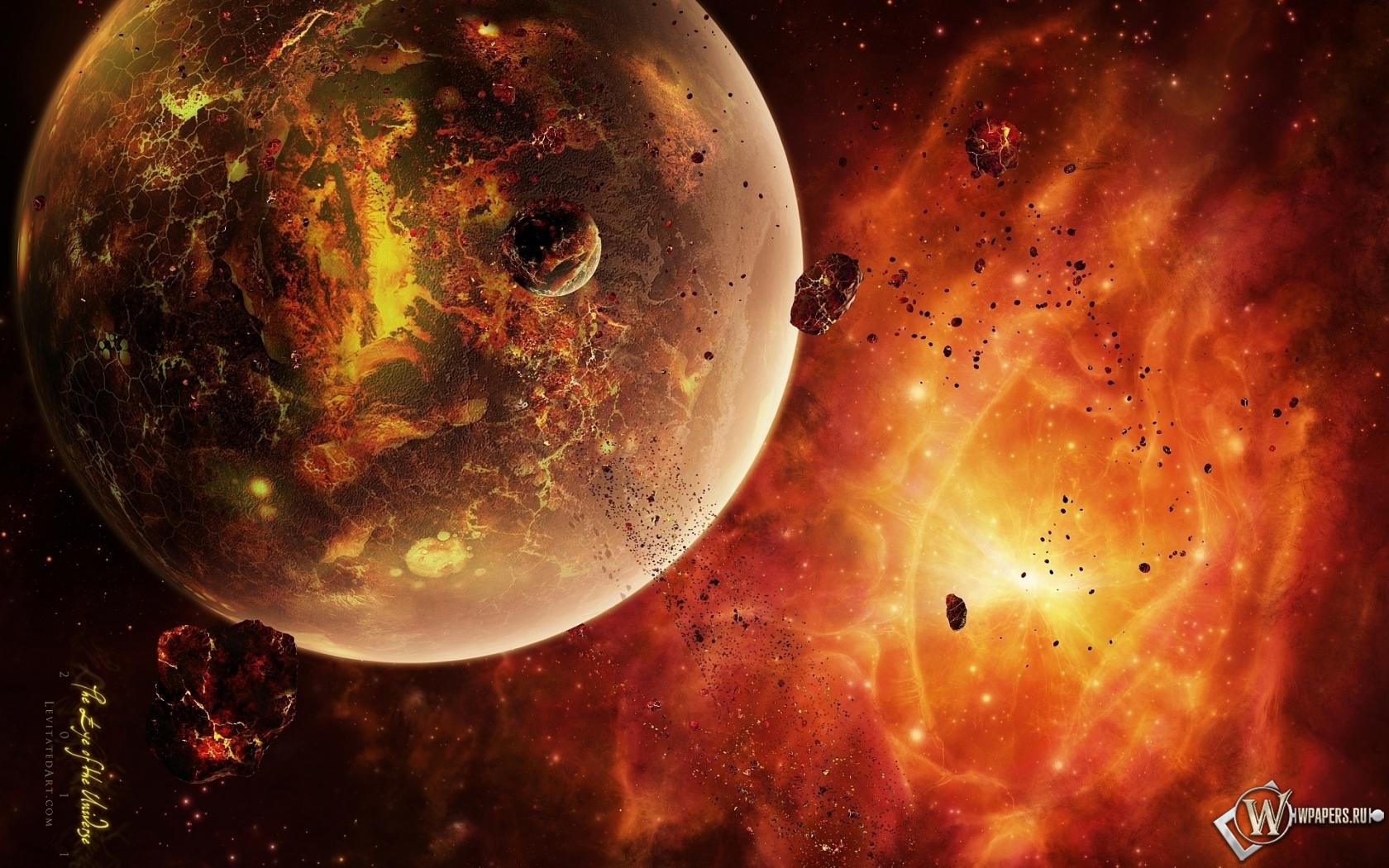 Обои космос космос планета