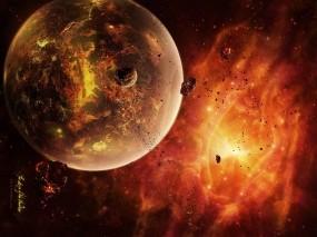 Обои Космос: Космос, Планета, Апокалипсис, Космос
