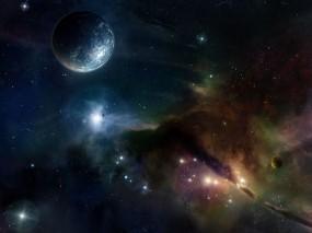 Обои Космос: Планета, Звёзды, Космос