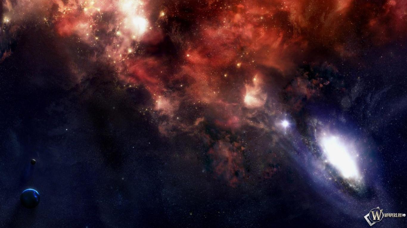 Обои космос и чёрные дыры космос