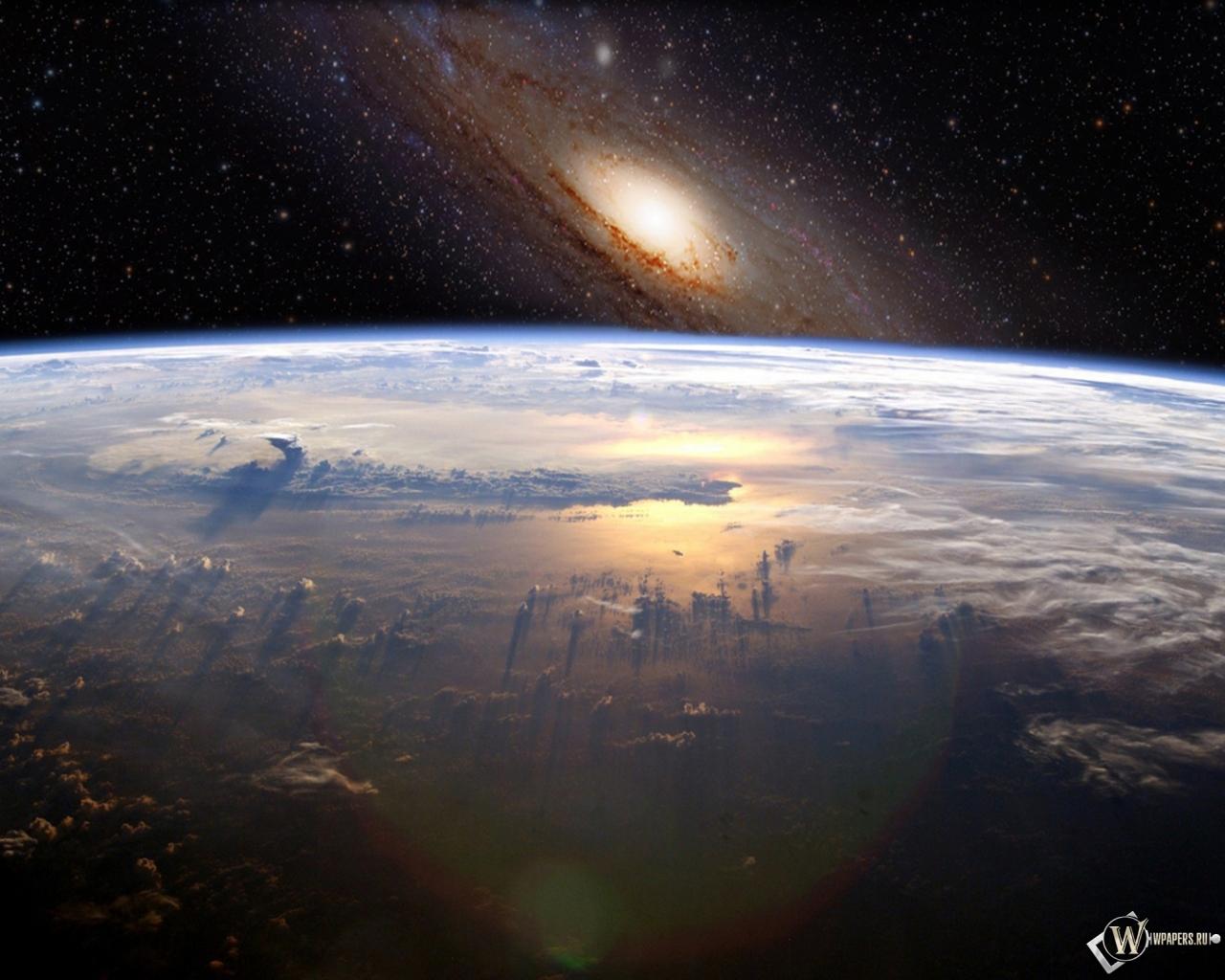 Космос земля звёзды вселенная