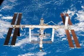 Обои МКС: Орбита, Станция, Земля с космоса, МКС, Космос