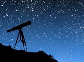 Обои Звёздное небо: Звёзды, Небо, Телескоп, Космос