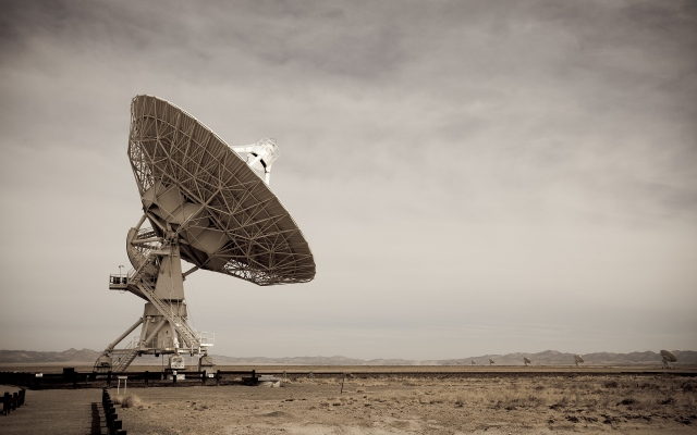Спутниковая антенна в Нью-Мексико
