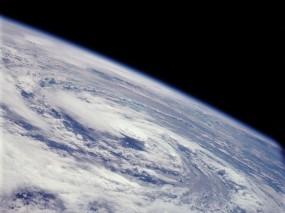 Обои Атмосфера: Атмосфера, Облака, Планета, Космос