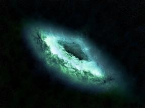 Обои Чёрная дыра: Космос, Аномалия, чёрная дыра, Космос