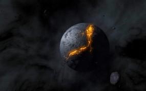 Обои Мертвая планета: Космос, Планета, Космос