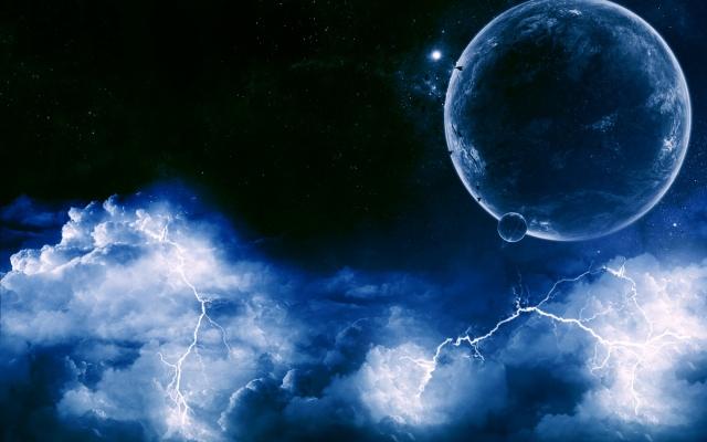 Планеты с молниями
