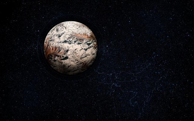 Коричневая планета