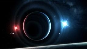 Обои Танец планет: Свет, Космос, Планеты, Звёзды, Космос