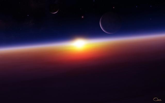Космический восход