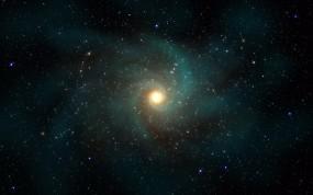 Обои Галактика: Звёзды, Галактика, Спираль, Космос