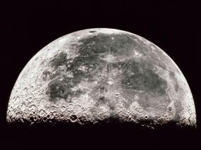 Обои Луна: Луна, Космос