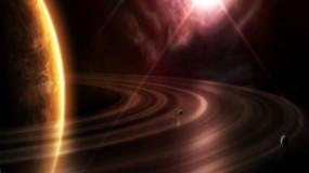 Обои Кольца планеты: Солнце, Кольца, Планеты, Космос