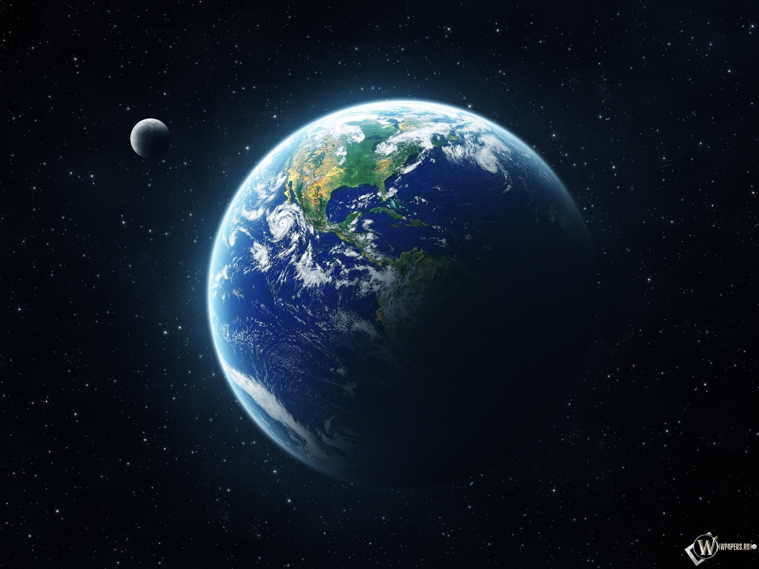 Обои earth на рабочий стол с разрешением