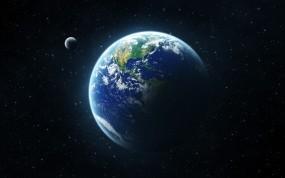 Обои Earth: Космос, Луна, Земля, Планета, Космос