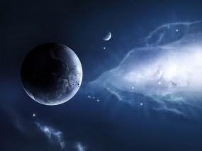 Обои Космический простор: Космос, Планеты, Звёзды, Метеориты, Космос