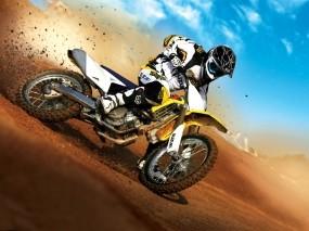 Обои Мотокросс: Мотоцикл, Пыль, Гонки, Спорт, Спорт