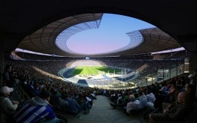 Обои Стадион: Спорт, Футбол, Люди, Стадион, Фанаты, Болельщики, Трибуна, Спорт