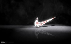 Обои Nike: Логотип, Спорт, Nike, Чёрное, Спорт