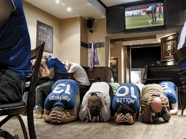 Футбольные болельщики