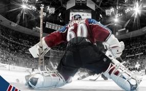 Обои Жозе Теодор: Лёд, Хоккей, Жозе Теодор, вратарь, Спорт