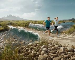 Обои Утренняя пробежка: Река, Вода, Бег, Дорожка, Спорт