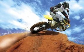 Обои Мотокросс: Мотоцикл, Спорт, мотоциклист, мотоэкстрим, Спорт