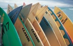 Обои Доски для сёрфинга: Океан, Спорт, Сёрфинг, Доски, Спорт