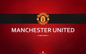 Обои Manchester United: Логотип, Футбол, Эмблема, Спорт