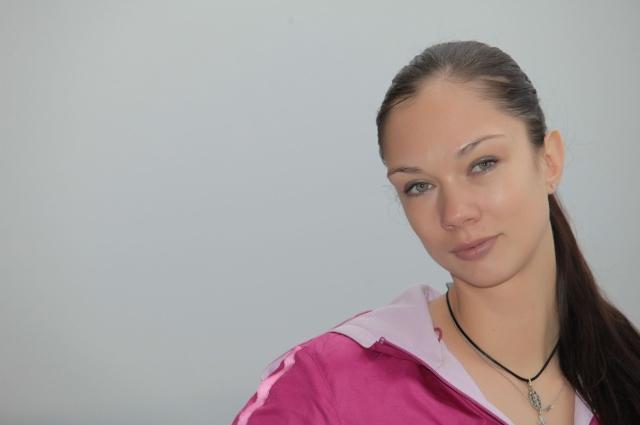 Волейболистка Екатерина Гамова