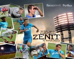 Обои Зенит 2010: Zenit, SHAMS, Зенит, ФК ЗЕНИТ, Алвеш, Спорт