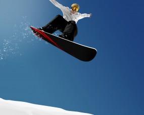 Обои Сноуборд: Снег, Сноуборд, Сноубордист, Спорт