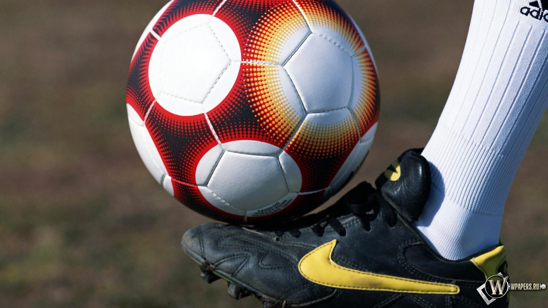 Обои футбольный мяч футбол мяч 1920x1080