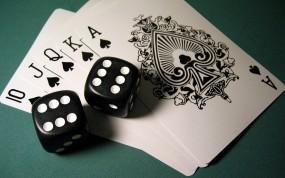 Обои Карты и кости: Кости, Карты, Сукно, Покер, Спорт