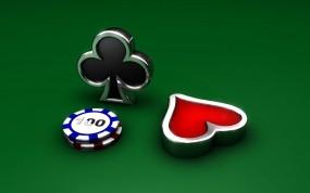 Обои Покерные фишки: Игра, Покер, Казино, Игры, Спорт