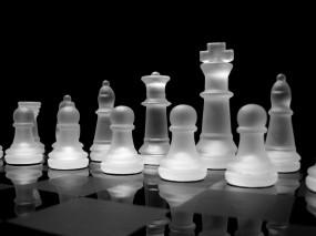 Обои Хрустальные шахматы: Шахматы, Игра, Хрусталь, Спорт