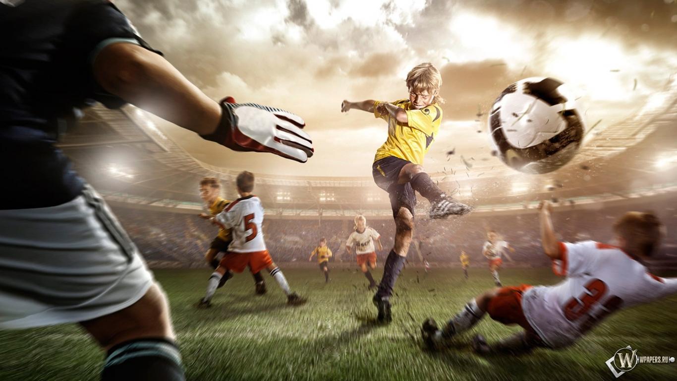 Обои fotball manipulation спорт футбол мяч